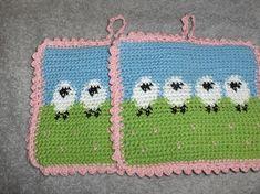 Nye heklede grytekluter Crochet Blanket Patterns, Kids Rugs, Decor, Kid Friendly Rugs, Decorating, Dekoration, Deco, Decorations, Deck