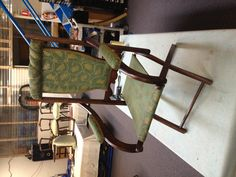 Check out this 1890's fold up picnic chair!!!