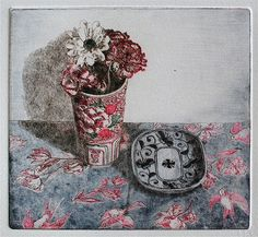 by Isabelle Sauvageot Pen And Watercolor, Watercolor Paintings, House Painting, Painting & Drawing, Still Life Artists, Illustration Artists, Illustrations, Kintsugi, Art Studios