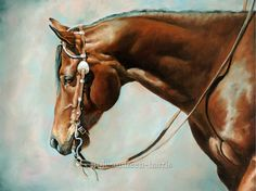 Painting the American Quarter Horse | Carole Andreen-Harris Art