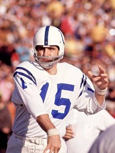 Earl Morrall Baltimore Colts NFL MVP of 1968 The NFL MVP of the 1968 Season.