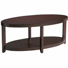 "This might complement the round leather ottoman on the other side of the room and is only 20"" x 42"". Meyers Coffee Table"