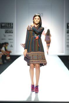 Tanvi Kedia Autumn Winter 2014 at Wills Lifestyle India Fashion Week Delhi