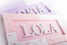 Cartel Con Nombre Pachtwork,bebe,nacimiento,bienvenido,niño - $ 340,00 en MercadoLibre