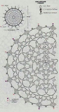 New crochet mandala pattern charts Ideas Motif Mandala Crochet, Crochet Circles, Crochet Doily Patterns, Crochet Chart, Thread Crochet, Love Crochet, Irish Crochet, Crochet Designs, Crochet Stitches