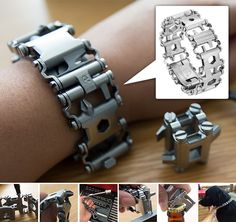 831998 - Silver Leatherman Tread HERO *click on link to see amazing product details- for marketing