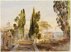 Aquarelles britanniques 1750-1900: Développement sujets pour la peinture de paysage - Victoria and Albert Museum