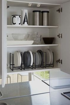 Tower Dish Storage Rack - Large in Various Colors