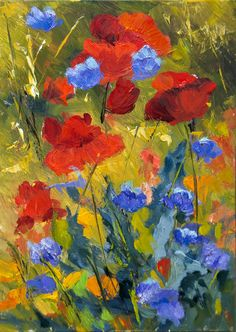 Find New Collection of Inspiring Colorful Poppy Garden By Maxcera ...