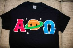 Space themed APO letters