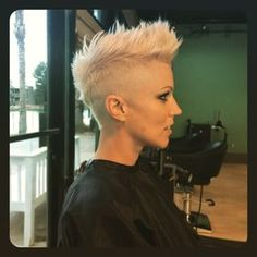 closely buzzed sides and tapered Mehr