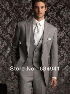 groom fashion tux | ... -new-Style-Light-Grey-western-Wedding-Groom-Tuxedo-Man-for-suit.jpg