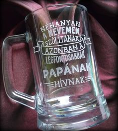 #minibazár #gravírozás #engraving Search Engine, Beer, Mugs, Tableware, Root Beer, Ale, Dinnerware, Tablewares, Mug