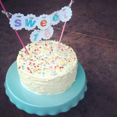 cue the confetti: sweet 16 cake, - Shopkins Party Ideas 16 Birthday Cake, Adult Birthday Cakes, Sweet 16 Birthday, 16th Birthday, Birthday Ideas, Birthday Gifts, Happy Birthday, Sweet 16 Presents, Sweet 16 Cakes