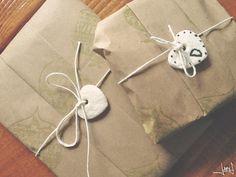 {Salt dough} Gift tags DIY