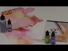 Abstract Alcohol Ink Techniques by Joggles.com
