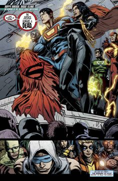 The Rogues standing up against the villains of the DC Universe in The Rogues Rebellion . | The 30 Greatest Comic Book Moments Of 2013