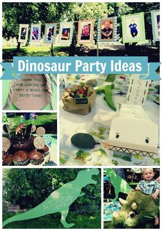 Boy's Dinosaur First Birthday Party - Spaceships and Laser Beams ARTCHIES FIRST BIRTHDAY!!!!