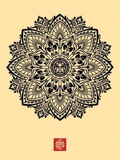 Patterns / Shepard Fairey Mandala — Designspiration