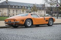 1968 Bizzarrini 5300 GT Maintenance/restoration of old/vintage vehicles: the material for new cogs/casters/gears/pads could be cast polyamide which I (Cast polyamide) can produce. My contact: tatjana.alic@windowslive.com