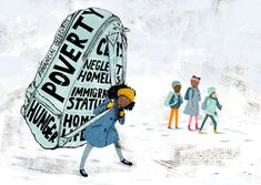 How To Help Kids in Poverty Adjust to the Stability of School After a Break - Poverty's Baggage