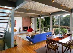 Mid-Century Mod Inspired Loft