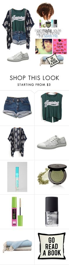 """""""Cuddling Chandler Riggs"""" by shinedownsiren ❤ liked on Polyvore featuring Re-Sole, 3 Custom Color, Maybelline, NARS Cosmetics, Amrapur, One Bella Casa, women's clothing, women, female and woman"""