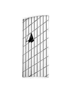 Autocollant Stickers Porte Orchidée blanche 3 P NON MERCI Ref PRIX SPÉCIAL