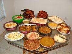 Beautiful Thanksgiving Dinner!!!