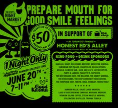 The Stop's Night Market June 20th 7-11pm.