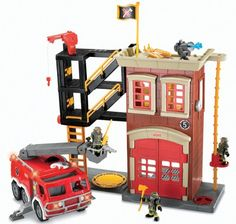 Fisher Price Imaginext Fire Truck Playset