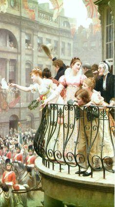 1816 exhibited in 1895 Edmund Blair Leighton