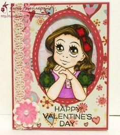 Luisa PaperCrafts #valentinesday #cardmaking