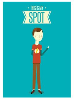 THE BIG BANG THEORY: This is my spot