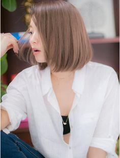 カバーヘア ブリス 上尾店(COVER HAIR bliss) *+COVER HAIR+*…ノ―バングで色っぽさボブa