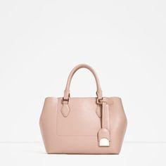 Image 1 of CITY BAG WITH ZIP from Zara
