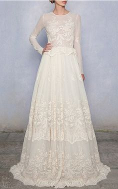Luisa Beccaria Bridal Look 19 on Moda Operandi