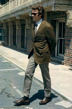 Mens style in the 1970s- Clint Eastwood.