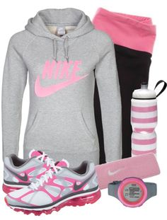 This would be a great running outfit for me because of all the cold weather we've been having.....