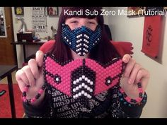 How to make a Kandi Sub Zero Mask (Tutorial) - YouTube
