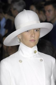 Hats are not easy to wear but keep trying and you will find one or 2 or 3.  Ralph Lauren Spring