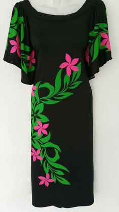 Island Wear, Island Outfit, Dress Sewing Tutorials, Dress Sewing Patterns, Samoan Women, Samoan Dress, Hawaii Pattern, Island Style Clothing, Luau Dress
