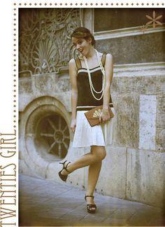 CHEAP AND COOL: Inspiración Tendencia de moda Años 20