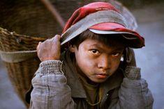 Trabalho infantil no Nepal.  Fotografia: Steve McCurry.