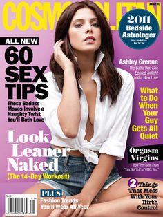 Cosmopolitan January 2011 #AshleyGreene
