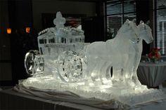 Artic Diamond Ice Sculptures