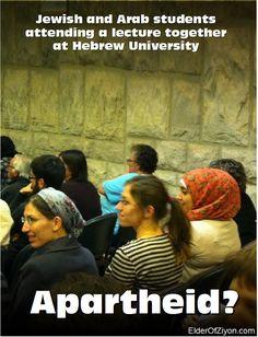 Elder Of Ziyon - Israel News: President of Achva College/Negev is a Bedouin (posters)