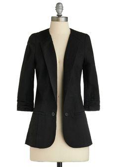 Now and Blazer Jacket | Mod Retro Vintage Jackets | ModCloth.com - StyleSays