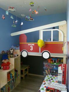 idée chambre pompier