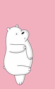 Ice Bear We Bare Bears, We Bear, Backrounds, We Bare Bears Wallpapers, Cute Wallpapers, Bear Wallpaper, Iphone Wallpaper, Cute Bears, Hd Images